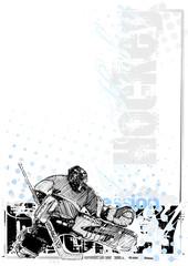 ice hockey background 3
