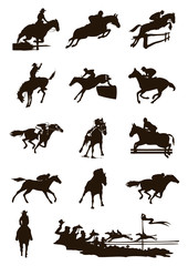 Sports on horses