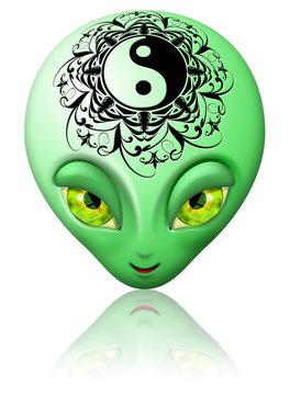 Avatar Alieno Yin Yang-Avatar Alien Zen