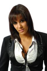 Belle jeune femme brune 4