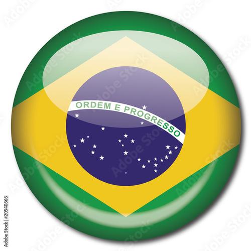 """""""Chapa bandera Brasil"""" Stock image and royalty-free vector"""