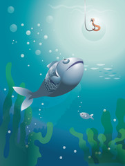 Pêche à la ligne - poissons
