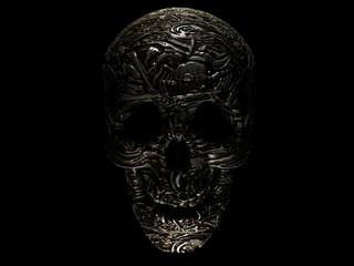 Skull alien