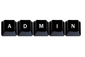 computer keys admin