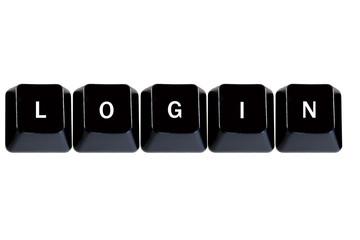 computer keys login