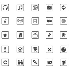 top grey iconset 1 - entertainment