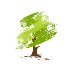 green eco tree