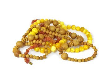 Lot of different beads