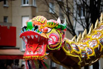 nouvel an chinois - dragon