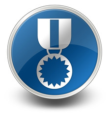 "Glossy Icon ""Award Medal"""