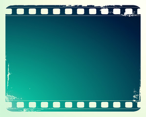 Film frame with space for your images - vector