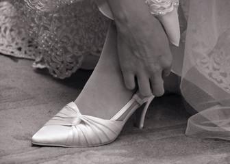 Ślubne obuwie