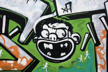 tag, graffiti ,singe