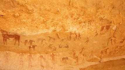Wall Murals Algeria Peintures rupestres