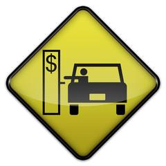 "Advisory Sign ""Road Toll Station"""