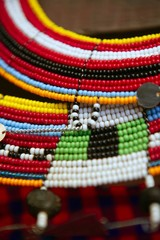 African ethnic colorful jewellery necklaces