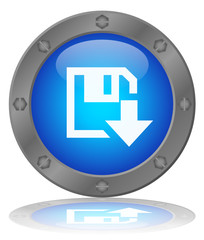 DOWNLOAD Web Button (Internet Online Save Free Now Blue Vector)
