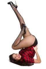 Pinup Woman Posing