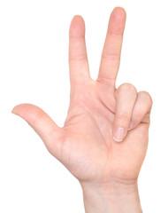 ASL Number 3