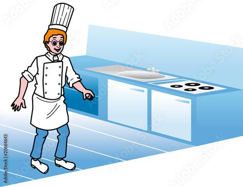 Cuisinier photo libre de droits sur la banque d 39 images for Cuisinier 2010