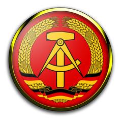 Wappen DDR Deutsche Demokratische Republik