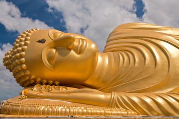 Reclining Buddha statue, Thailand