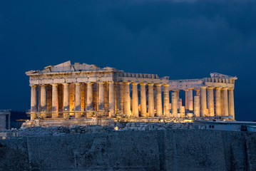 Canvas Prints Athens Athens Acropolis Parthenon