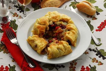 Torta salata ai peperoni - Cucina vegetariana