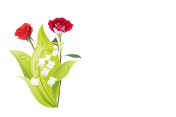 Roses & muguet