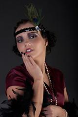 Retrowoman 1920s