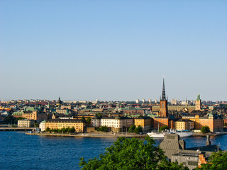 Stockholm and Baltic Sea
