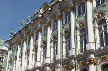 Russia. St.-Petersburg. The Hermitage (Winter Palace)