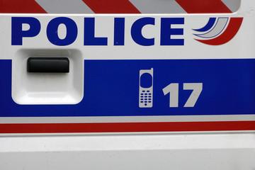 Logo  vehicule Police - France