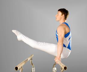 Aluminium Prints Gymnastics gymnast