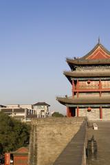 Foto op Textielframe Xian xian wall