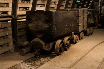 Old coal carts
