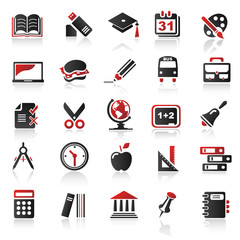 red icons set 4