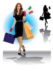 Milano shopper