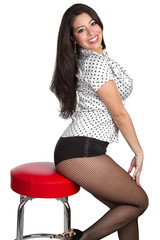 Mexican Pinup Woman
