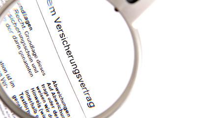 Versicherungsvertrag 02
