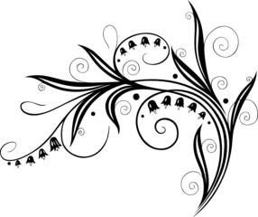 Maiglöckchen, Blumen, Blüte, Ranke, filigran, floral
