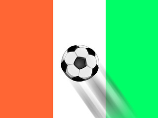 Fussballmannschaft von der Elfenbeinküste