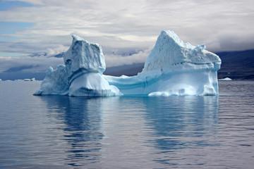 Ice mountain in Uummannaq Fjord, Greenland.