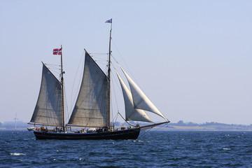 Traditionssegler auf de Ostsee