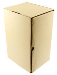 boîte carton emballage fond blanc
