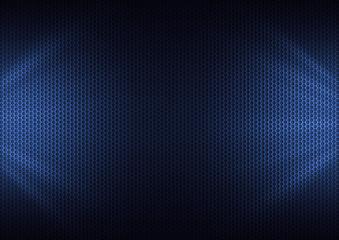 Blue Metal Plating