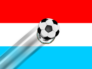 Fussballmannschaft aus Paraguay