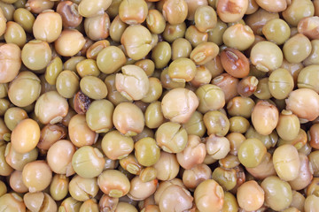Close view of pigeon peas