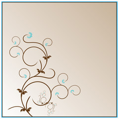 Background Floral Design