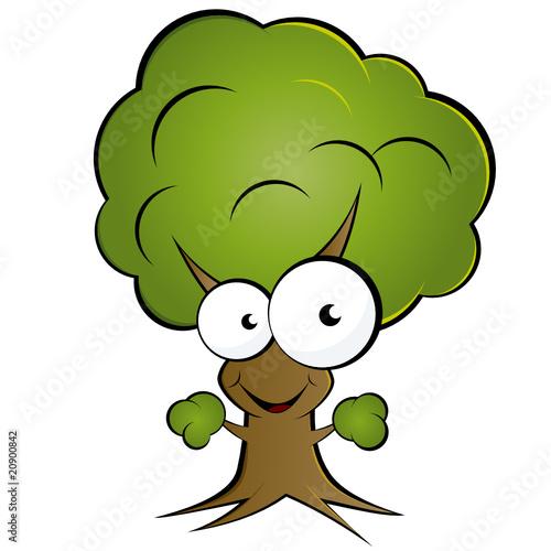 Baum cartoon lustig comic natur stockfotos und - Baum comic bilder ...